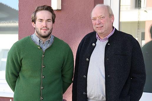 Geschäftsführer Bastian und leitender Ingenieur Dirk Hollmann